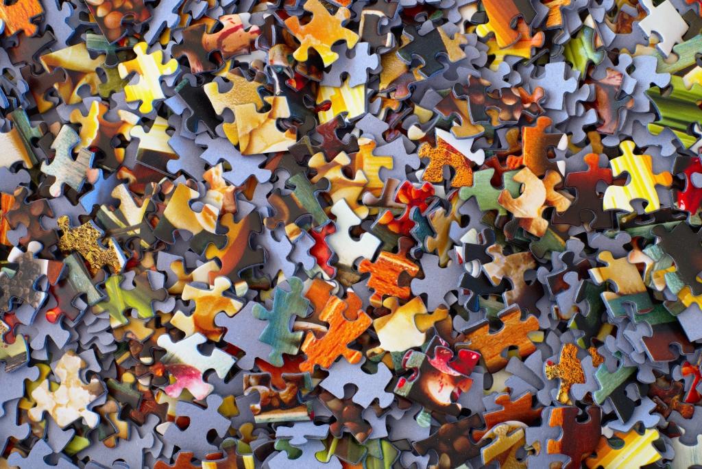 Vooral puzzels zijn welkom.