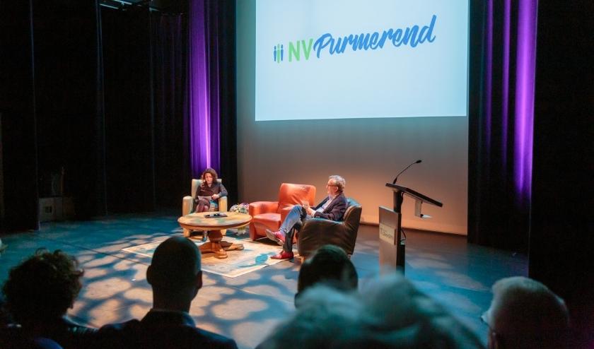 Niet meer fysiek bij elkaar, wel op de hoogte blijven in de online talkshow NV Purmerend.