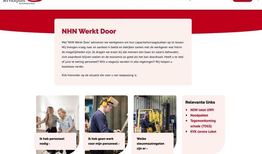 'NHN werkt door' voor bedrijven met capaciteitsvraagstuk.