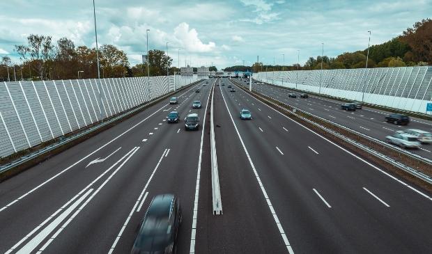De snelweg A10.