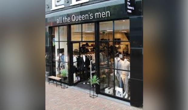 All the Queen's men aan de Laat in Alkmaar is failliet en heeft zijn deuren gesloten.