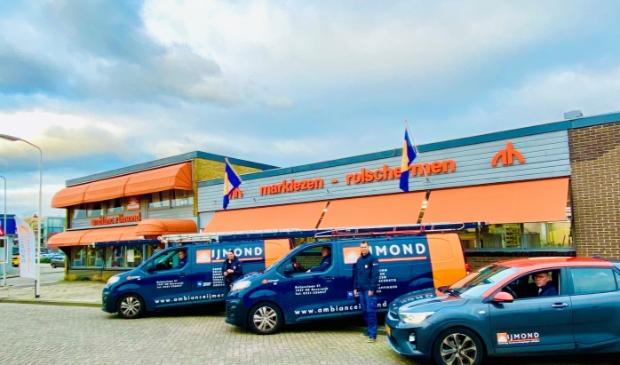 Het pand van Ambiance IJmond in Beverwijk.