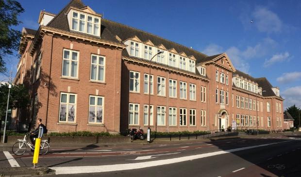 Het pand aan de Bergerweg in Alkmaar waarin het Regionaal Archief is gevestigd.