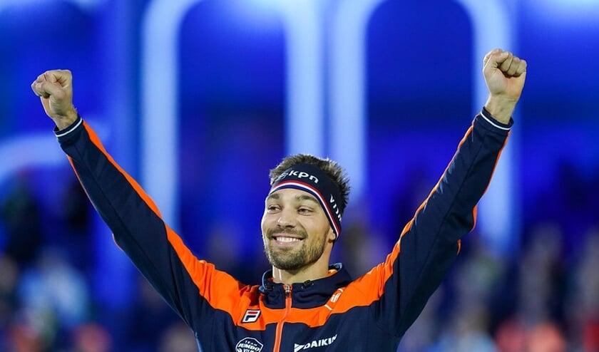 Kjeld Nuis rijdt volgend seizoen in de kleuren van Reggeborgh. (Foto TimsImaging)