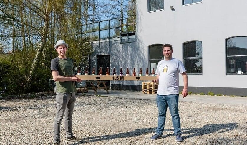 Sjors Last en Michiel van Berging Brouwerij