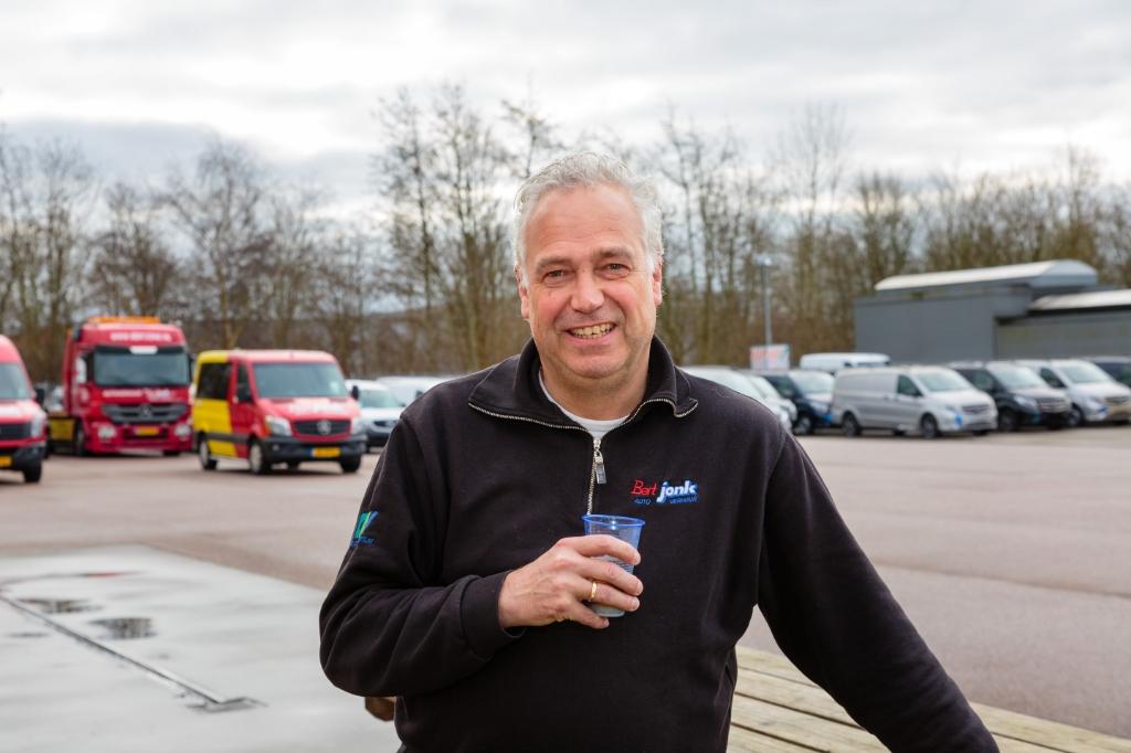 Robert Jonk van Bert Jonk Autoverhuur (Foto: Els Broers) © rodi