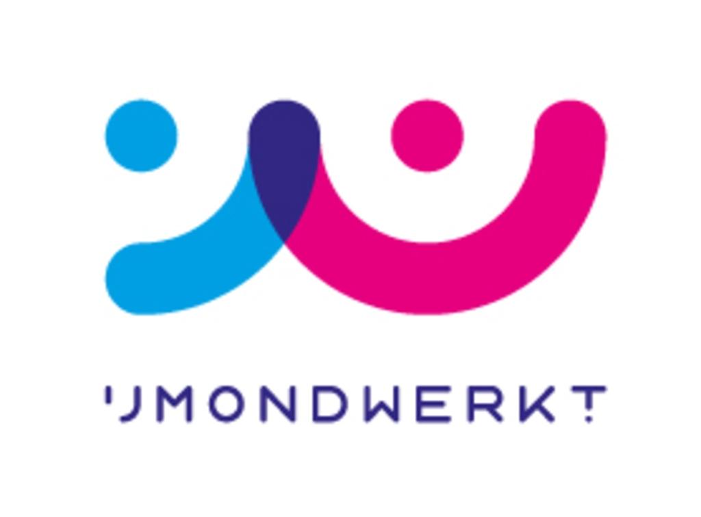 Het logo van IJmond Werkt! (Foto: Aangeleverd) © rodi