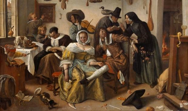 Online kunstlezing over Jan Steen.