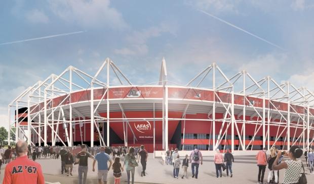 Alkmaar stelt tien miljoen beschikbaar voor nieuw AZ dak