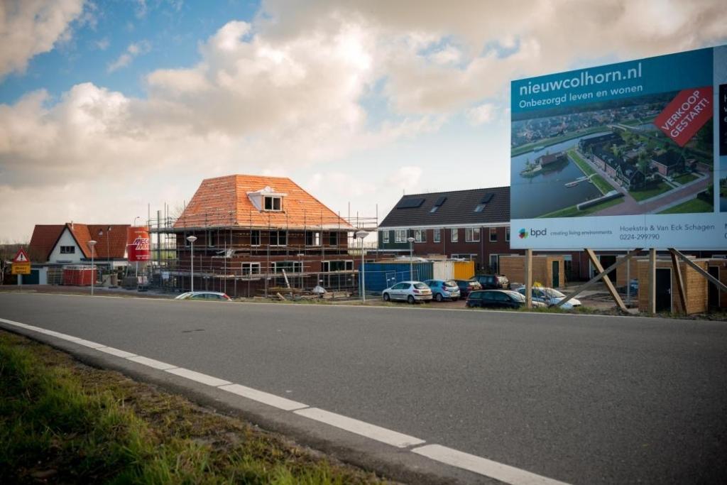 Nieuwbouw wonen in Colhorn