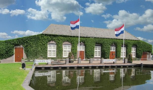 <p>Poldermuseum Het Oude Gemaal aan de Huigendijk in Heerhugowaard.</p>