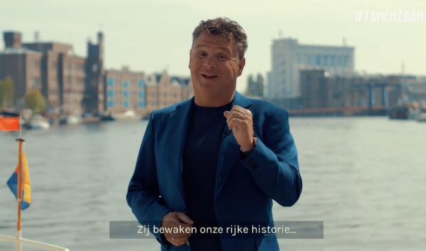 Wolter Kroes laat zijn Zaanse hart spreken in de videofilm die vrijdag in première gaat.