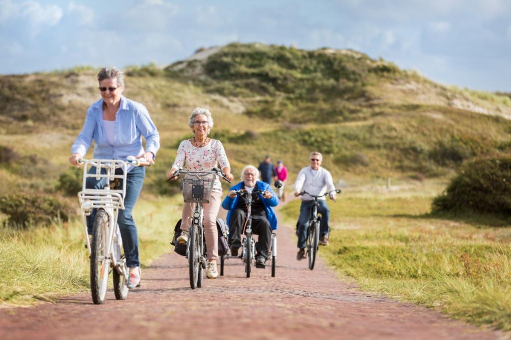 Veiliger fietsen tot je honderdste. Dat is het voornaamste doel van Doortrappen. (Foto: ROB GIELING) © rodi