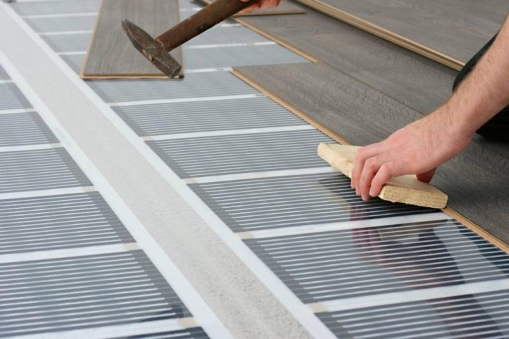 Woodstock-vloeren met verwarmingsmatten zijn 30 jaar geleden al ontwikkeld en staan sindsdien op de testbank en worden regelmatig verbeterd.  (Foto: aangeleverd) © rodi