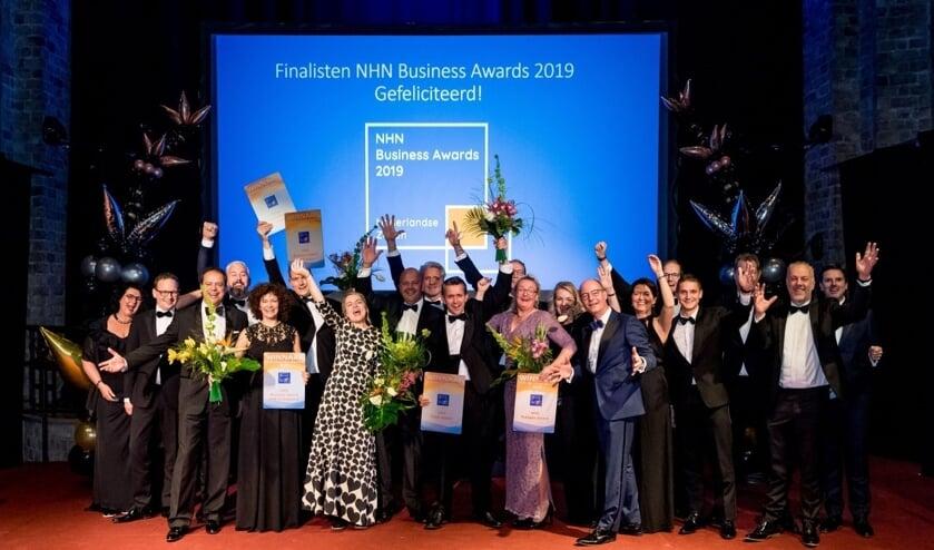 De NHN Business award 2019.