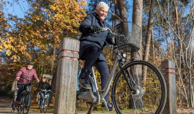 Ouderen veilig en zekerder laten fietsen.
