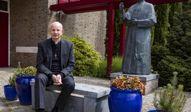 Pastoor Frank Domen van de Dionysiusparochie.
