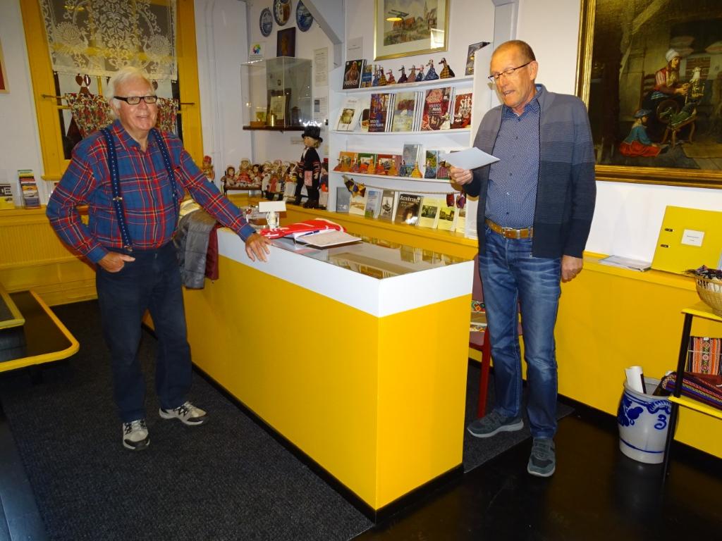 Pieter Korstman benoemd tot Erelid van 'Marker Museum'. (Foto: foto: Pep) © rodi