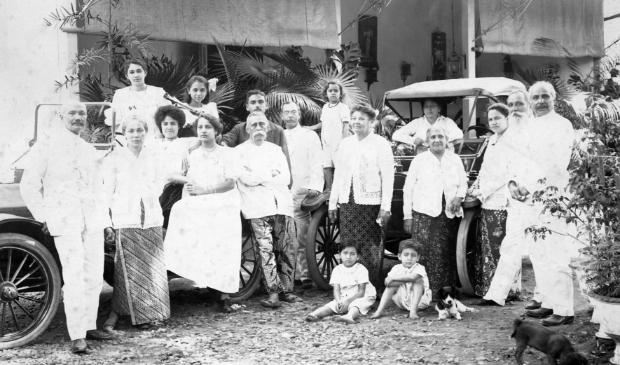 Familie Thomson, Magelang, 1910.