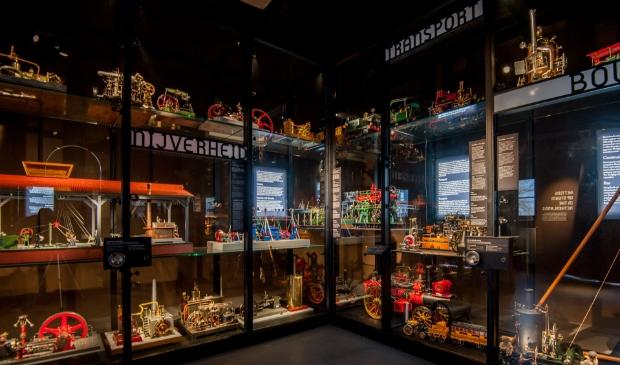 Zoek de link op de website en ga virtueel door het Stoommachinemuseum.