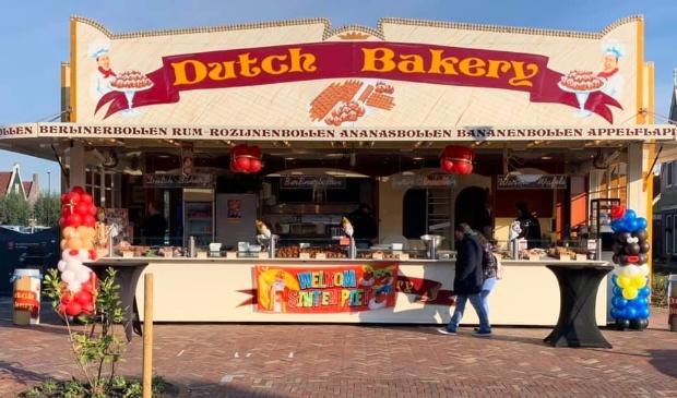 Dutch Bakery van half mei tot half augustus op de Dijk in Volendam.