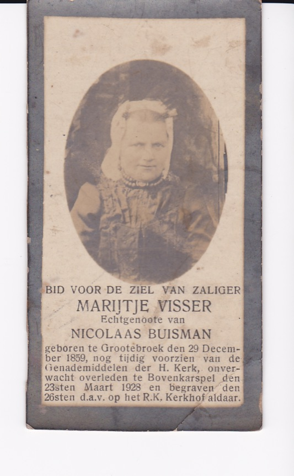 Marijtje Visser uit Grootebroek. (Foto: ) © rodi