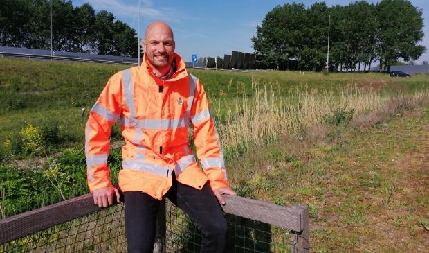 Dick van der Kolk is de verantwoordelijke omgevingsmanager.