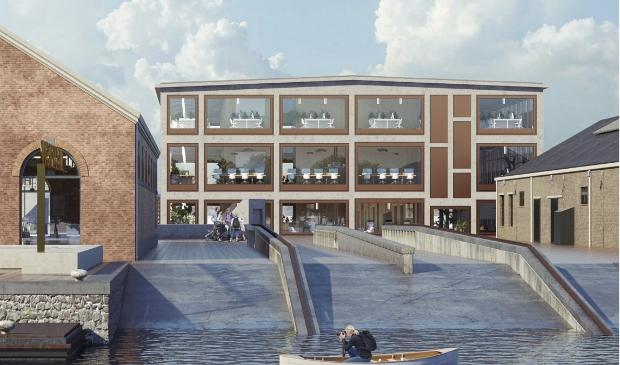 De komst van het stadhuis is de redding van gebouw 66 op Willemsoord.