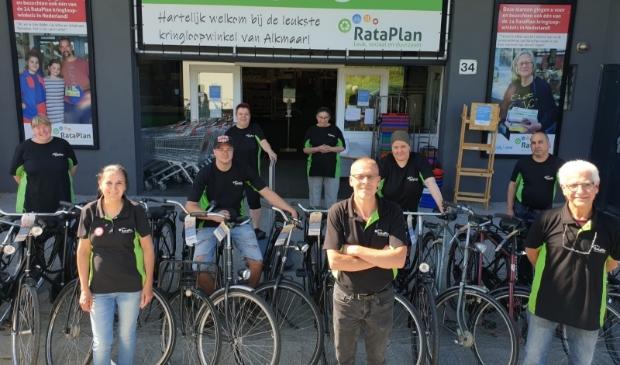 25 fietsen voor kansarme jongeren Alkmaar.