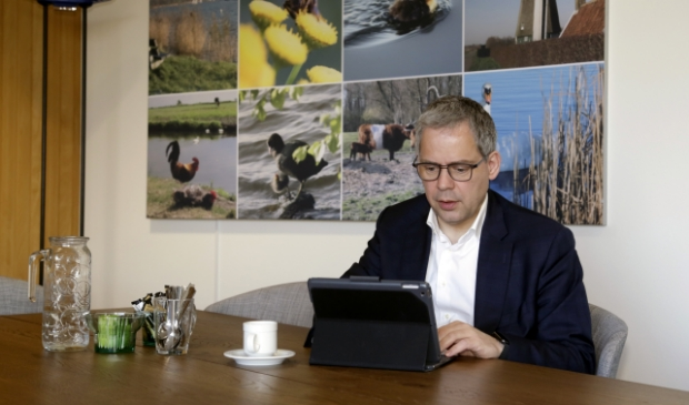 Dennis Straat is nu waarnemend burgemeester van Landsmeer.