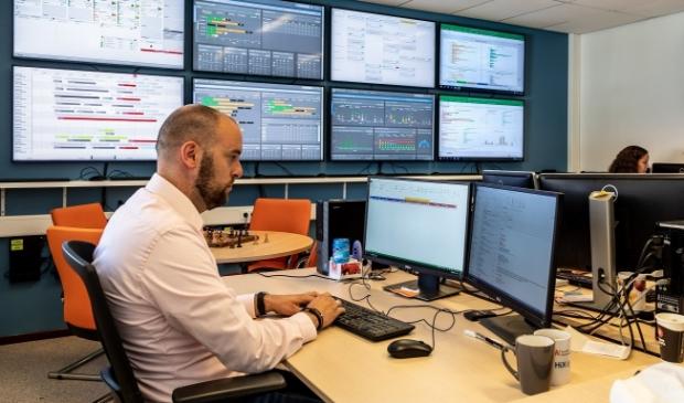 Naast het monitoren van de actuele situatie kan er in het Hospital control center ook vooruit gekeken worden.