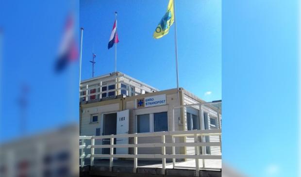 Vanaf 1 juli is de EHBO strandpost Castricum dagelijks open.