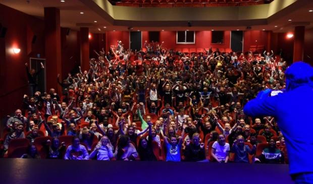 Workshop eindmusical in theater de Purmaryn 2019.