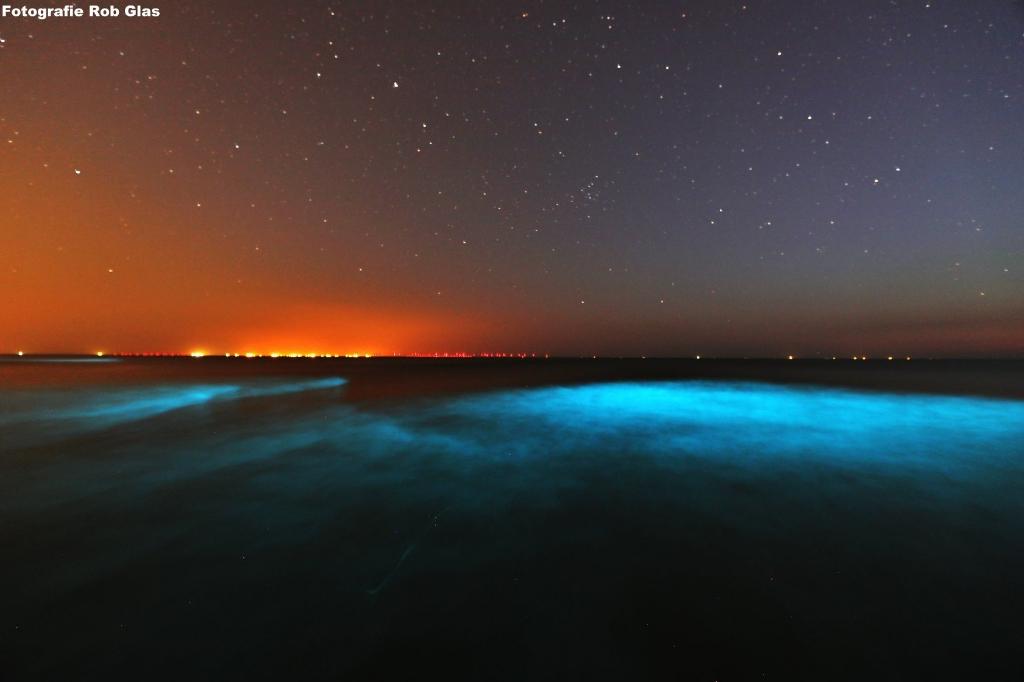 De gloed is meestal blauw of groen (Foto: Rob Glas) © rodi
