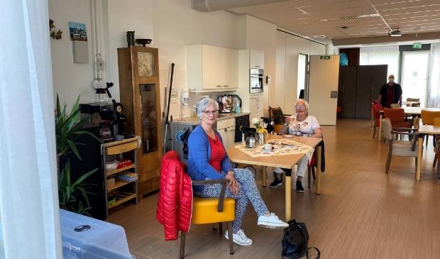 Een van de eerste bezoeken tijdens de pilotfase bezoek in de Lishof in Oostzaan.