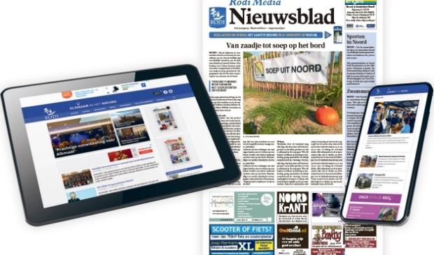 Rodi Media brengt vanaf 6 juli één wekelijks nieuwsblad per gemeente.