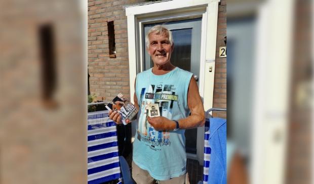 Leo van Duin ontving een Scheurkalender 2020