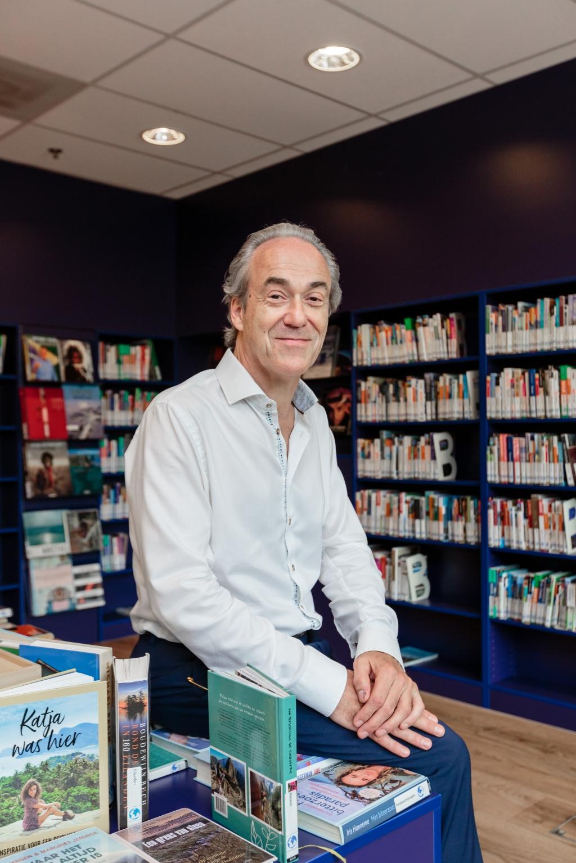 """""""Ik wil de ondernemers betrekken bij de verdere ontwikkeling van de bibliotheek."""" (Foto:Els Broers) © rodi"""