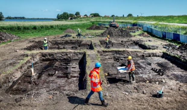 Opgraving Uitdam.
