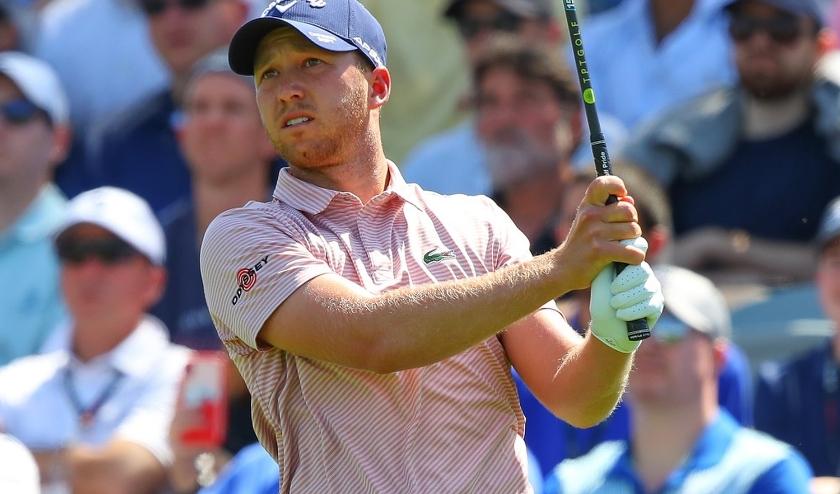 Daniel Berger wint op Colonial bij de herstart van de PGA Tour.