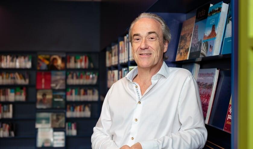 """Norbert van Halderen: """"Ik wil de ondernemers betrekken bij de verdere ontwikkeling van de bibliotheek."""""""