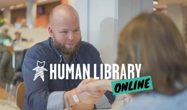 Human Library: 'leen' mensen en hun verhaal.