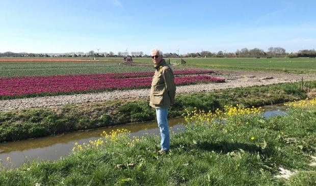 Peter Sasburg geniet van zijn West-Friesland.