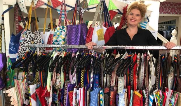 Daniëlle bedacht een creatief en circulair concept voor het behoud van haar unieke bedrijf.
