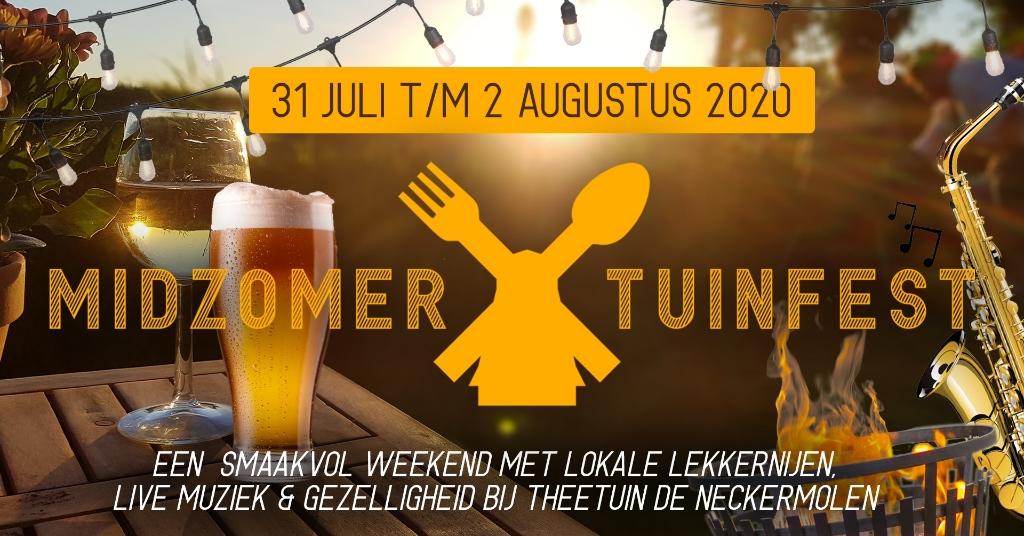 Theetuin de Neckermolen organiseert samen een zomerfestijn om naar uit te kijken.