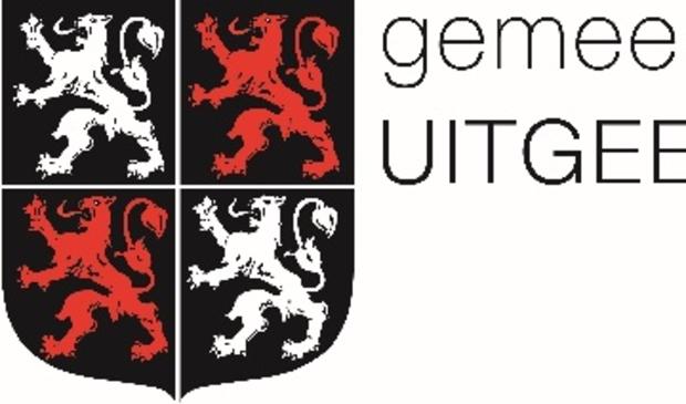 Het wapen van de gemeente Uitgeest.