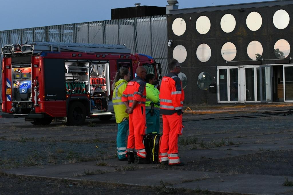 De hulpdiensten waren vlug ter plaatse. (Foto: Sander Kaaij) © rodi