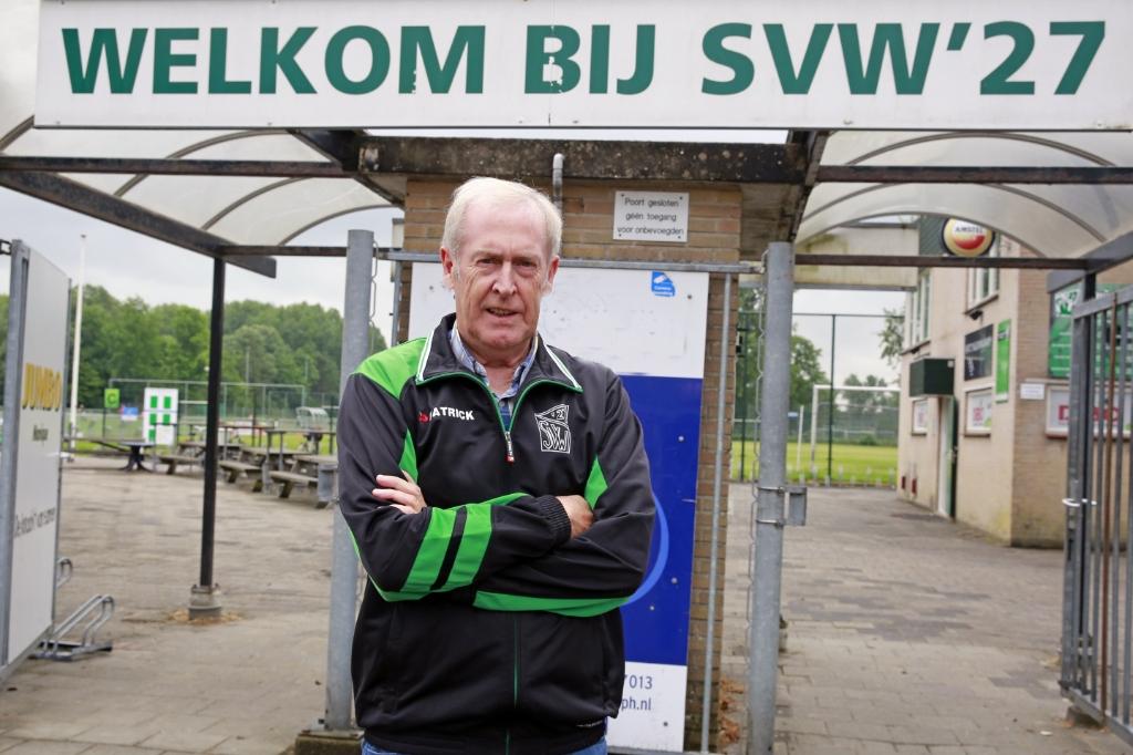 Gerard van Diepen: ruim een halve eeuw trouw vrijwilliger bij SVW '27. (Foto: Theo Annes) © rodi