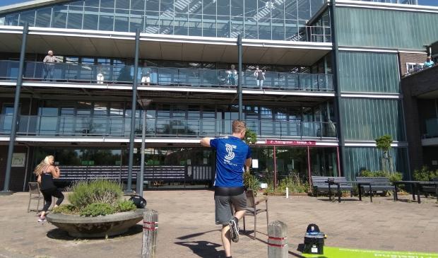 Rigtershof doet mee aan nationale balkon beweegdag.