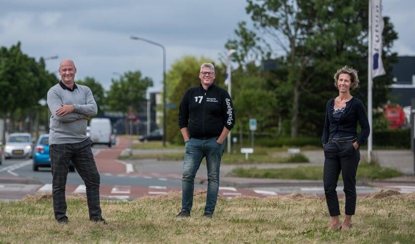 Dennis van der Veen, Norbert Reijngoud en Patricia Surendonk